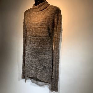 Helmut Lang sheer knit pullover sweater